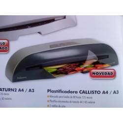 MAQUINA PLASTIFICAR FELLOWES A-4 CALLISTO CRC 57278