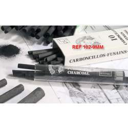 CARBONCILLO LEAM REF-102 9 MM CAJA10U