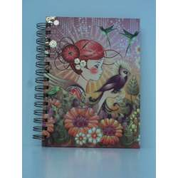 CUADERNO A-5 HZTAL SENFORT15 CATALINA GIRLS CEG100