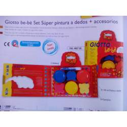 PINTURA DEDOS GIOTTO BEBE SET SUPER KIT 460700