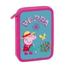 ESTUCHE CREMA CEG15 PEPPA PIG NATURE SENCILLO VACIO 109557