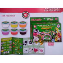 JUEGO ALPINO MAGIC DOUGH ANIMALES DP000139