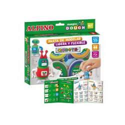 JUEGO ALPINO MAGIC DOUGH ROBOTS DP000151