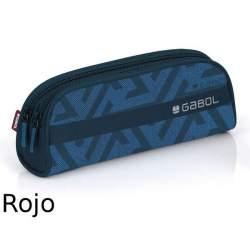 PORTATODO GABOL15 NEXUS DOBLE OVAL 22CM ROJO 216531
