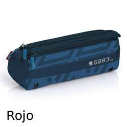 PORTATODO GABOL15 NEXUS TRIPLE 22CM ROJO 216509