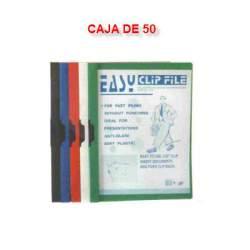DOSSIER CLIP 30H YES SURTIDO 5 COLORES C/50U POESSA 513590