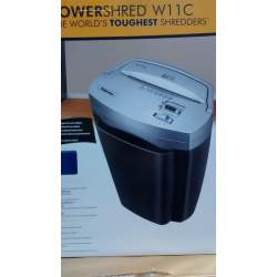 DESTRUCTORA FELLOWES W11C PARTICULAS 3,9*35MM 11 HOJAS