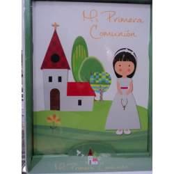 LIBRO COMUNION ARGU MODERNO NIÑA 38440