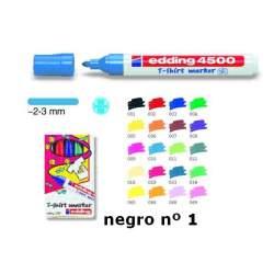 MARCD. EDDING Nº 4500 TELA NEGRO
