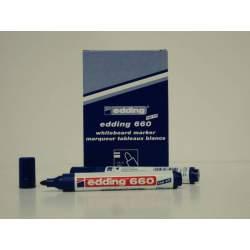 MARCD. EDDING Nº 660 PLASTICO PIZARRA BLANCA AZUL C/10U