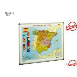 MAPA MURAL FAIBO ESPAÑA 72*93 SIN MARCO 143G