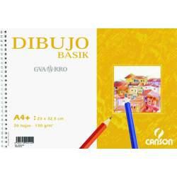 BLOC DIBUJO BASIK 130G A-4 MICRO LISO 20H