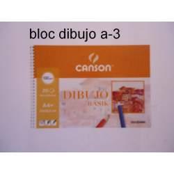BLOC DIBUJO BASIK 150G A-3 ESPIRAL 20H