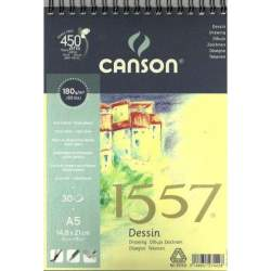 BLOC DIBUJO CANSON DISEÑO A-5 180G 30H