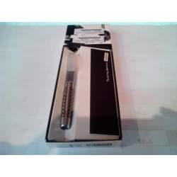 BOLIGRAFO INOXCROM CARBONE MINIMETAL C/FUNDA 009924