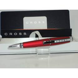 BOLIGRAFO CROSS EDGE EXTENSIBLE ROJO CROMO XAT0555-7