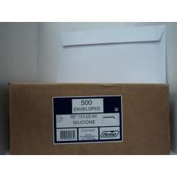 SOBRE FIRMO AMERICANO SILICONA 115*225 90G REF 69566 C/500U