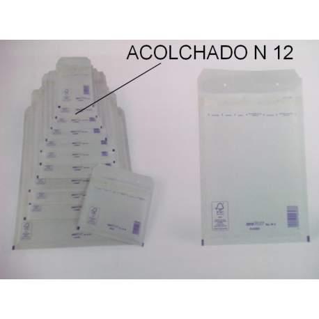 SOBRE BOLSA ACOLCHADA AK-12 120*210 PTE/10U